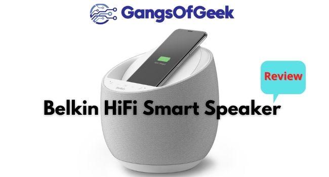 Belkin HiFi Smart Speaker